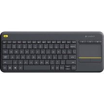 Logitech K400 Plus Touchpad Wireless Keyboard - Wireless Connectivity - ... - $1.023,68 MXN