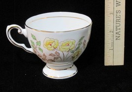 Tea Cup Tuscan Yellow Rose Floral Flower Fine English Bone China  Vintag... - $8.90