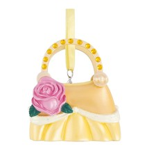 Disney Parks Belle Purse Handbag Christmas Resin Ornament New with Tags - $24.14