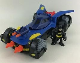 Imaginext DC Super Friends Deluxe Batmobile Fisher Price Batman Vehicle ... - $34.60