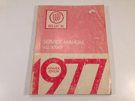 1977 Buick Factory OEM Chassis Service Manual All Series Advance Edition - $14.99