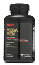 GNC MEGA MEN SPORT Dietary Supplement 180 cap FREE ASAP SHIPPING! - $46.40