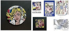 Bundle- 6 Assorted Roy Lichtenstein Posters and Pins Art Pieces - $346.50