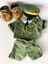 Build A Bear Workshop U.S.Army Uniform And Boots - $23.99