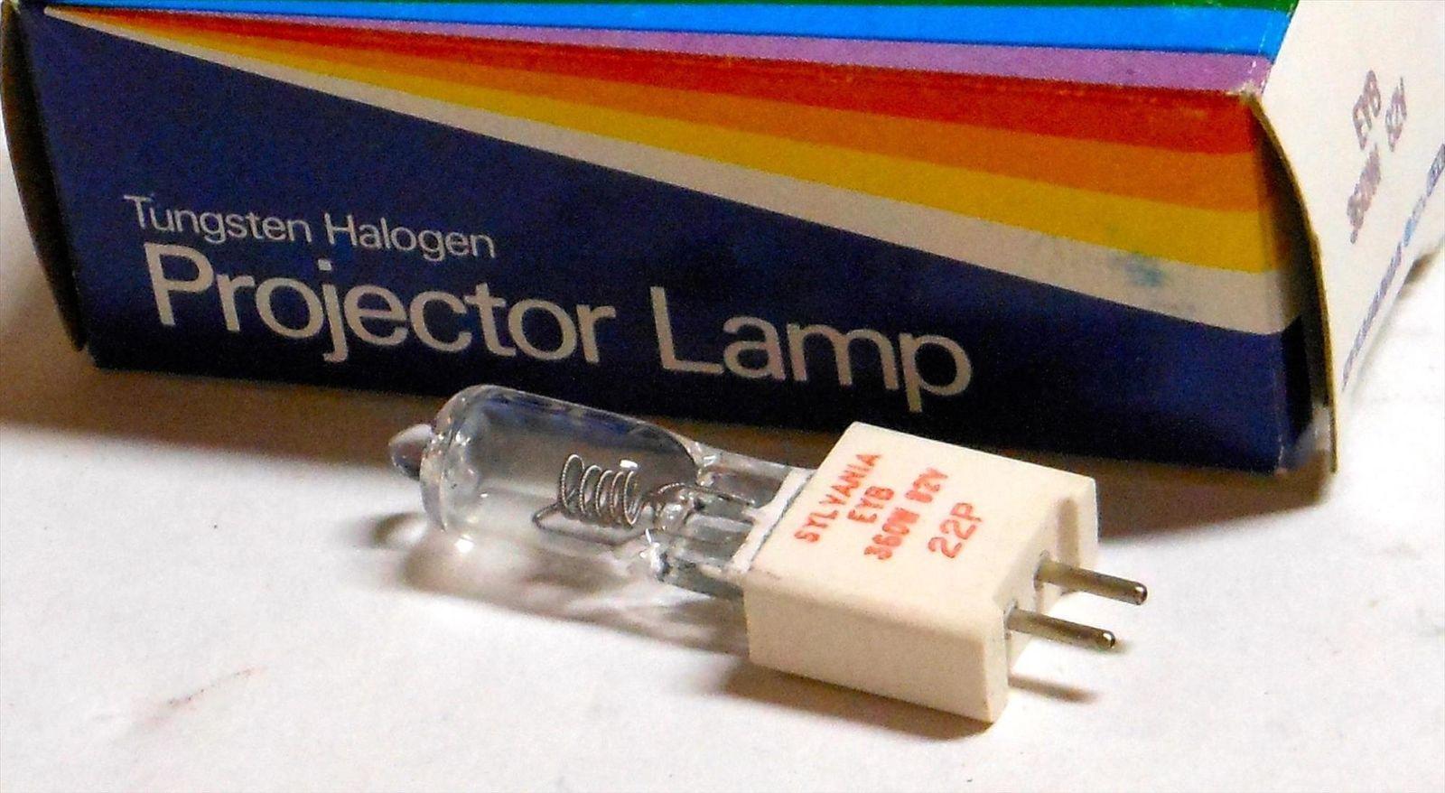 NEW Sylvania EHA 500W 120V Tungsten Halogen Projector Lamp Bulb  *FREE SHIPPING*