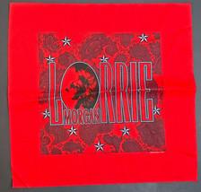 "Lorrie Morgan Red Bandana Handkerchief  22"" x 22"" Bandana Handkerchief  - $11.59"
