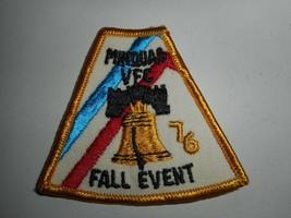 "Vintage 70s BSA Boy Scouts Pennsylvania Minquas VFC 76 Fall Event Patch 3""x3"" - $6.99"
