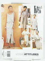 Vogue Attitudes 1811 Sewing Pattern Petite Jacket Top Skirt Vest Size 12... - $11.00