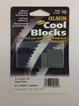 "Olson Cool Blocks Band Saw Guides, CB50010 for 12"" Sears TTB, 10"" Skil or Dremel - $16.99"