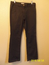 Ann Taylor Loft Women's Dress Pants Gray Four Pocket Career Wear  Size 8 - $6.99