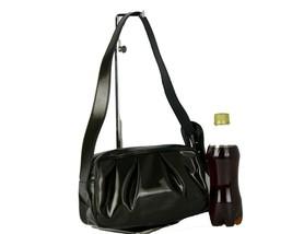 Authentic FENDI Patent Leather Shoulder Bag Purse Hand Bag Vintage Used ... - $256.41