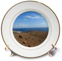 Mountain Ocean View - Porcelain Plate, 8-inch (cp_200902_1) - $68.70