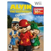 Alvin and the Chipmunks: Chipwrecked (Nintendo Wii, 2011) Ships in 12 hours!!! - $6.85