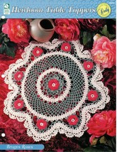 Crochet Pattern - Bruges Roses - Heirloom Table Toppers - House Of White Birches - $1.97