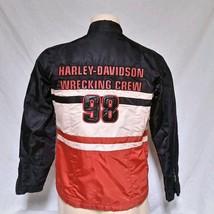 Harley Davidson Motorcycle Jacket Riding Nylon Wrecking Crew Biker Women... - $49.99