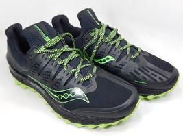 Saucony Xodus ISO 3 Sz 9 M (D) EU 42.5 Men's Trail Running Shoes Black S20449-1