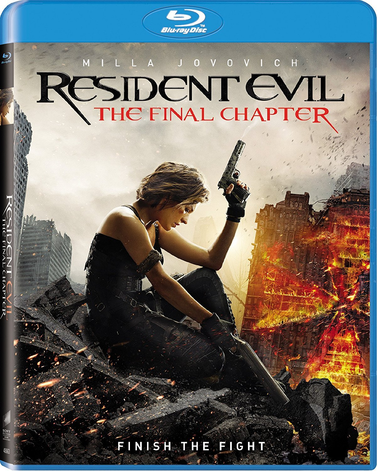 Resident Evil: The Final Chapter [2017, Blu-ray]