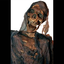 Life Size Creepy ANIMATED TWITCHING CORPSE ZOMBIE Haunted House Prop Dec... - $168.27