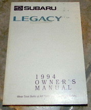 1994 subaru legacy owners manual new original parts service - $20.99