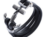 Acelet stainless steel cross anchor toggle clasps bracelets fashion men wrist band thumb155 crop