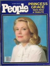 People Magazine September 27, 1982 Princess Grace Tribute - $1.75