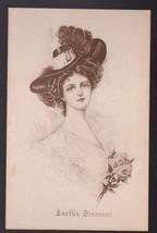 Earth's Treasure Vintage Artist Signed Postcard Mary Russell - $4.98