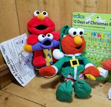 ELMO Interactive Plush Jump&Learn/12 Days of Christmas-Parts/Repair  - $58.60