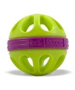Kurgo Dog Toy Mini Wapple(TM) Ball For Small Dogs, Courtside Green - £11.27 GBP