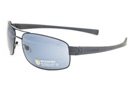 Tag Heuer LRS 251 401 Black / Watersport Blue Polarized Sunglasses TH251... - $293.02