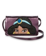 Disney Danielle Nicole Jasmine Phone Crossbody Bag Purple Mettalic NWT - $58.41