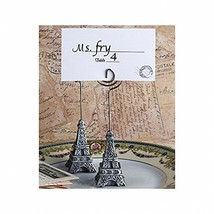 Eiffel Tower French Themed Place Card Holders or Table Number Holders (S... - $12.14