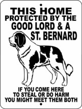 ST. BERNARD DOG SIGN 1829 - $14.71