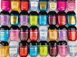 Bath & Body Works Pocketbac Hand Sanitizers Mixed Variety Lot of 10 - $55.00