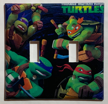 Teenage Ninja turtles Light Switch Outlet Duplex wall Cover Plate Home decor image 2
