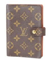 Authentic LOUIS VUITTON Monogram 6 Ring Agenda Address Book Cover #37801B - $152.10