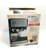 Mr Coffee Cafe Barista Model BVMC-ECMP1000 Espresso Cappuccino Black Sta... - $22.95
