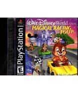 """PlayStation -Walt Disney """"Magical Racing Tour""""  - $9.95"""