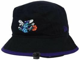 Charlotte Hornets New Era NBA Tipped Bucket Floppy Hat Cap Lid - XL  - $18.42