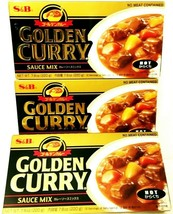 S&B Golden Curry Sauce Mix - Hot 7.8 oz ( Pack of 3 )  - $18.69