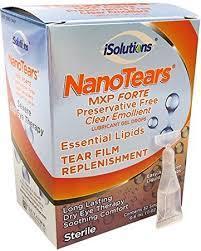 Nanotears MXP Forte gel drops .02fl  32 vials