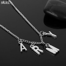SMJEL Trendy Jimin ARMY Letter Choker Necklaces for Women Men Kpop Boys ... - $9.48
