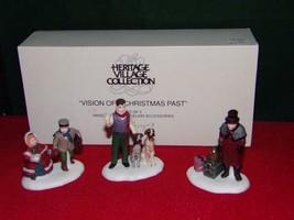 DEPT. 56 VISION OF CHRISTMAS PAST #58173 RETIRED-(LOT-SJ) - $12.74
