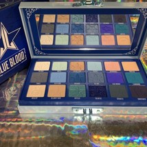 NEW IN BOX Jeffree Star BLUE BLOOD Palette 18 Pans Of Blue CRUELTY FREE SEE PICS image 1
