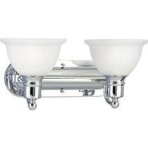 Progress Lighting P3162-15 2-Light Bath and Vanity Fixture 100 Watt 120 ... - $91.44