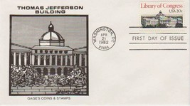 "April 21st, 1982 ""Library Of Congress"" First Day Issue - $1.48"