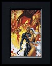 Black Panther #5 Storm 11x14 Framed Poster Display Marvel J Scott Campbe... - $34.64