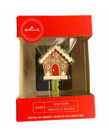Hallmark New Home 2020 Gingerbread Key Shape Christmas Tree Ornament Col... - $17.99
