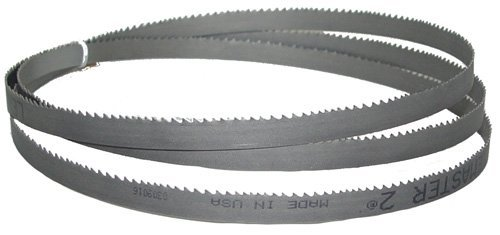 "Primary image for Magnate M101M12H3 Bi-metal Bandsaw Blade, 101"" Long - 1/2"" Width; 3 Hook Tooth;"