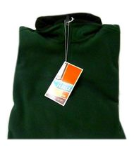 Fleece Jacket Old Navy Uniform Unisex Hunter Green 1/4 Zip Performance L New image 7