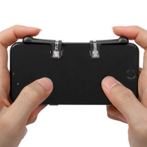 Game Controller Shooter Mobile Gaming Aiming Fire Trigger Button Handle ... - $9.20